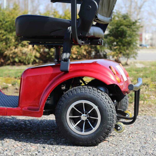 Seniorenmobil - Abbildung der hinteren Reifen