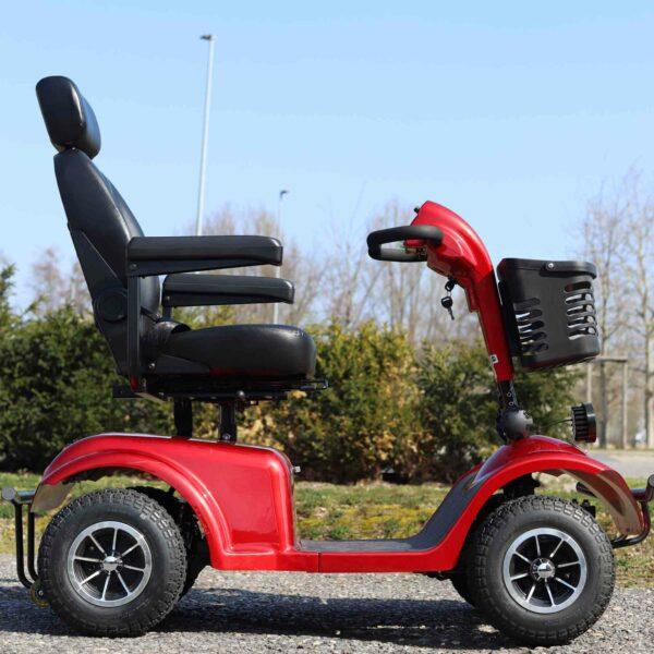 rotes Seniorenmobil