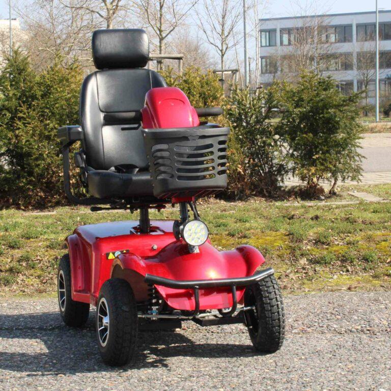 Seniorenmobil - Abbildung des gesamten Mobils von vorne