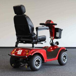 Seniorenmobil - Abbildung von Hinten