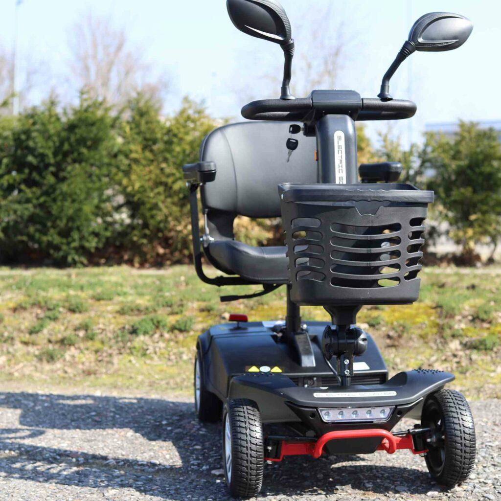 Elektromobil für Senioren von Vorne
